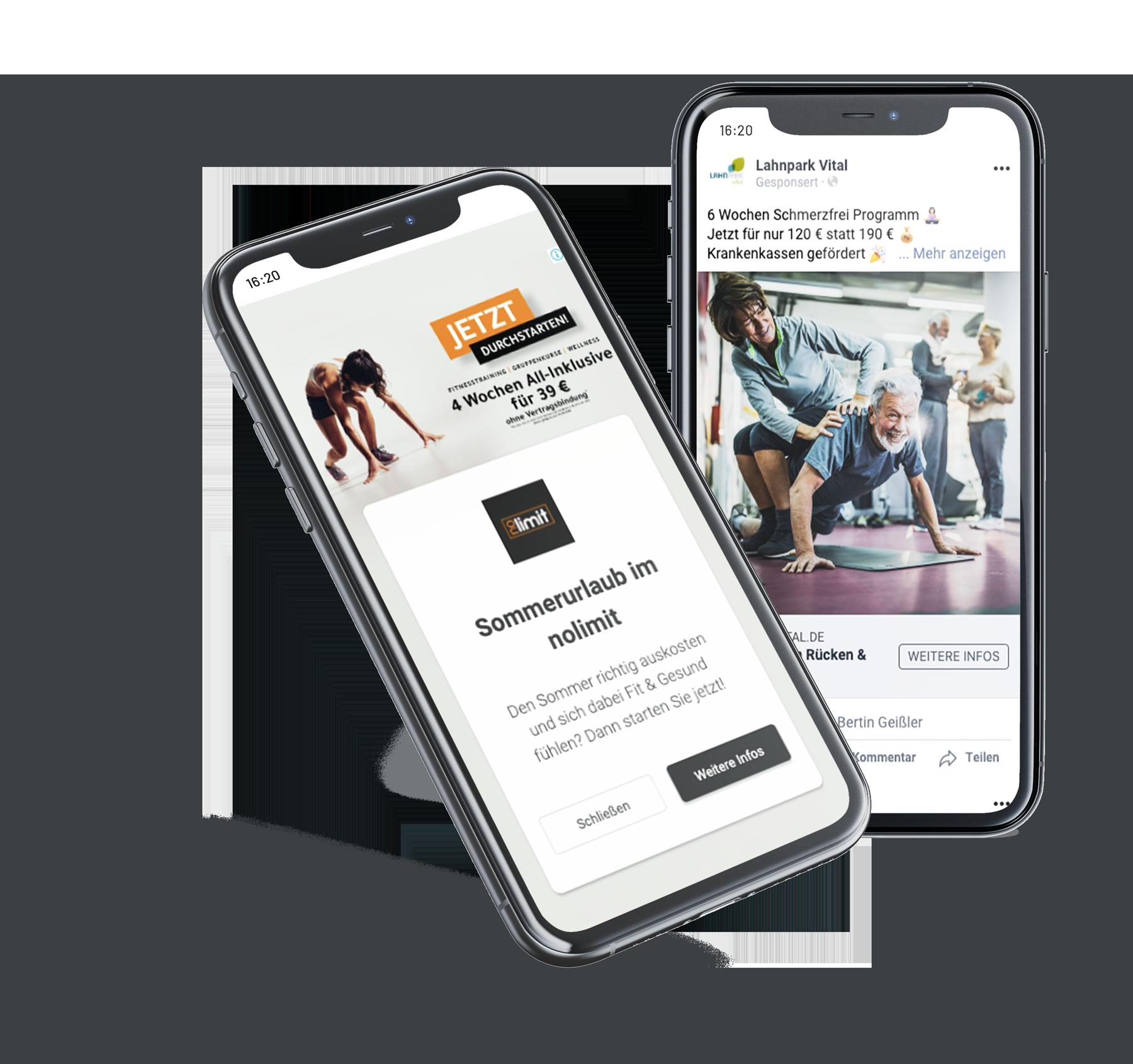 Konzept Eins - Online_Marketing_Mockup